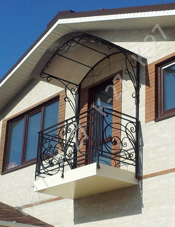 Навесы для балкона своими руками.