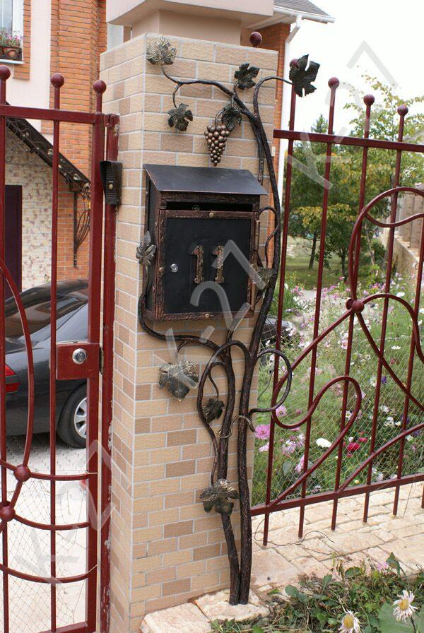 Фото почтовых ящиков для частного дома